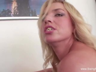 Interracial BBC For Blonde Swinger Wife With Other Man