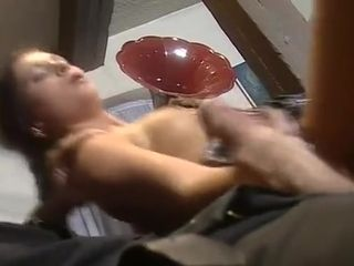 Super-steamy ginger-haired Takes three fuck-sticks rectal