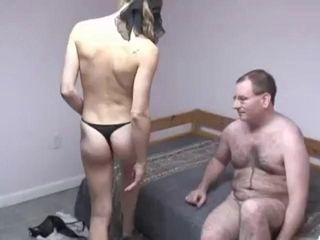 Geek Logan gets his small dick slobbered all over