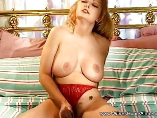 Naughty fake penis have fun For Married honey