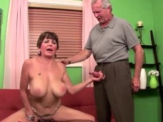 Cuck hubby watches busty wife get blacked