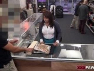 """""""XXX PAWN - Curvy MILF Earns Money To Bail Out Her Husband By Riding My Cock"""""""