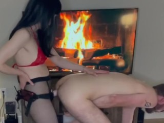 She Pegged Him by Fire  Peg Couple