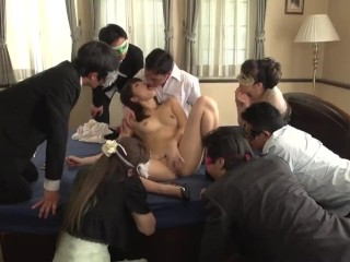 JAV Miki Sunohara sucky-sucky and ass job while audience watches|4::sucky-sucky,9::Asian,14::Group,18::Japanese,38::HD