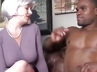 Horny sex teacher with black student