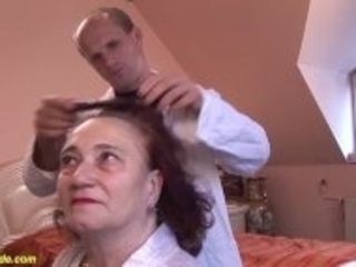 """""""chubby mom fucked by her hairdresser"""""""