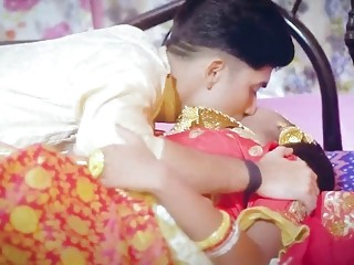 Indian newly weds, Saree Suhagraat sex