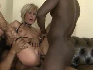 Mum Loves It When The Bbcs Come Round To Her Her Holes With Cathy Inez