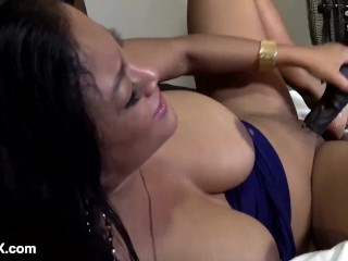 Oriental Maxine X Stuffs Cambodian Cunt With So Many Toys!