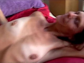 Disgusting Sex With Very Skinny Mature Cunt