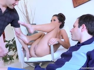 Lovely cock fiend Cameron Canela is eager for some cuckold fun that will blow your mind for sure