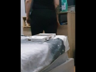 Step momhousekeeper get fucked while cleaning the house by step son (screaming orgasm)