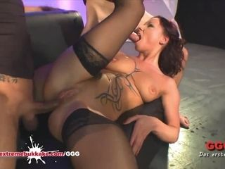 Angie prosaic fucked together with Creamed precedent-setting Bukkake