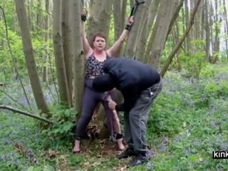 Alfresco BDSM less usherette Katinka 53