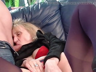Grandma still loves anal sex
