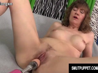 Smut Puppet - Mature Women Getting Railed by Fucking Machines Compilation 1