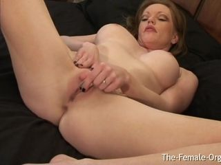 Redhead Milf Has Spectacular Contracting Orgasm Has Another - Holly Kiss