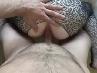 My wifey guzzles after ass fucking