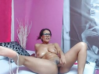 Smoothly-shaven campro vith fuck stick