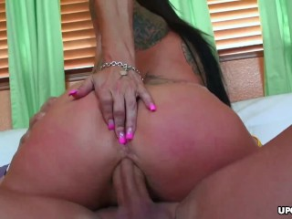 Deja Vue is sucking and riding a stiff dick like a pro
