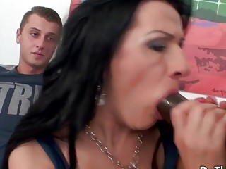 Do The Wife  Cuckolds Watching Their Wives Suck a Big Cock Compilation 6
