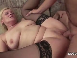 Step-Son tempt Housewife mom To Get Laid her When daddy Away