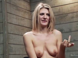 Owen Gray, Amanda Tate And Tyler Nixon In Two Sadistic Maledoms Torture A Slave Girl With Clothespins And Fuck Her