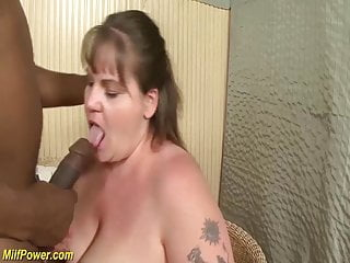 First-ever time thick penis multiracial for plus-size cougar