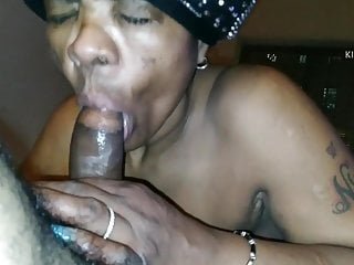 Nasty granny loves swallowing me