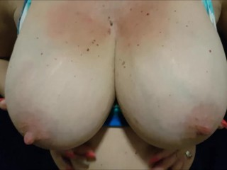 Mature damsel with thick fun bags wants u to slurp and blow her nips like this