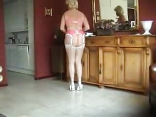 Sexy  mature in underwear