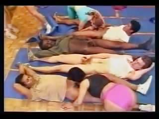 Interracial gym