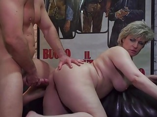 Hungry mature mothers seduce stupid sons