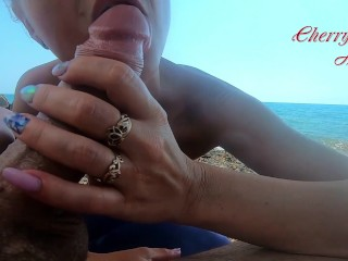 Sizzling ash-blonde Public sucky-sucky on the Beach - jizm in Mouth|4::sucky-sucky,20::MILF,30::POV,38::HD,46::Verified Amateurs