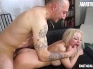 """""""AmateurEuro - Blonde Italian MILF ASS Fucked to Climax At Her Porn Audition"""""""
