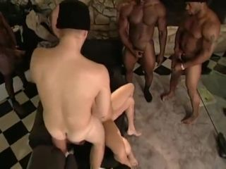 Inari Vachs gets Forced by 8 guys in front of husband