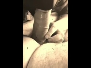 Step mom sucking cock and swallos cum from step son in the car