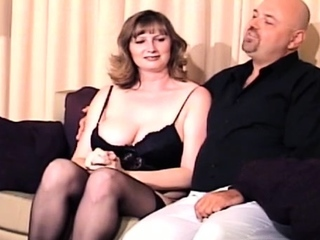 Big chap bounds and gets coarse with a concupiscent doxy
