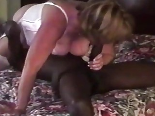 VHS video of a wife being plowed