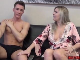 Insane mother coitus with internal cumshot