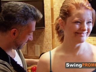 Swinger spouse has to eat and bj's