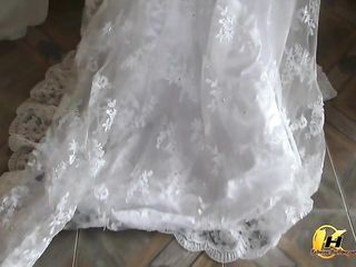 In My Wedding Sundress And Some Surprise Under
