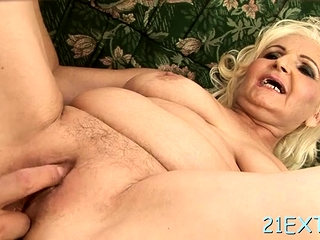 Cute busty mature Marianne gets fucking surprise