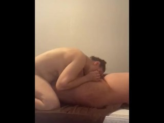 Step mom fucked deep in the mouth for bad behaviour by step son