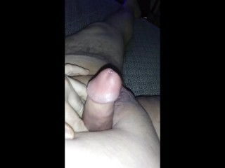 inserting 9 inch Sound into my Cock