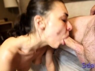 Succulent Alina Henessy gets off with big packing monster