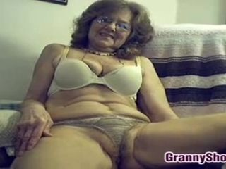 Amateur Porn Granny Being A Tease