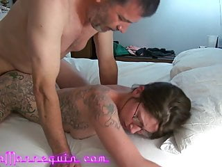 Massive Surprise Facial For Neighbor's Wife After Hard Fuck