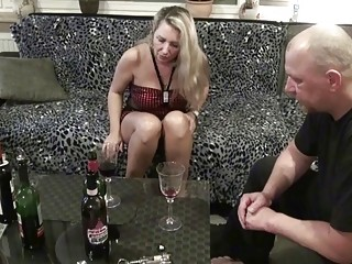 Older German Couple Made First Time Real Homemade Porn