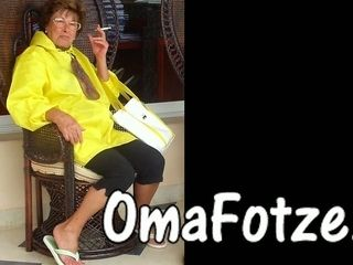 OmaFotzE Compilation be incumbent on crude Granny Photos